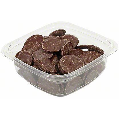 Valrhona 55% Equatoriale Dark Chocolate Discs, by lb