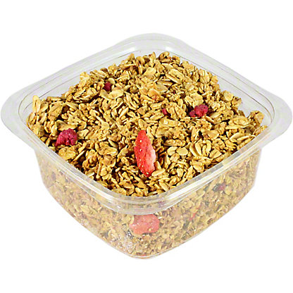 Low-Fat Strawberry Raspberry Granola,LB