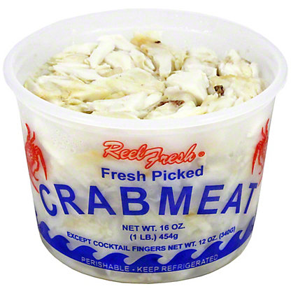 Fresh Jumbo Lump Crab Meat, LB