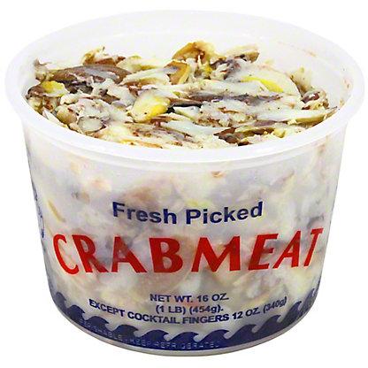 Fresh Crab Claw Meat, lb