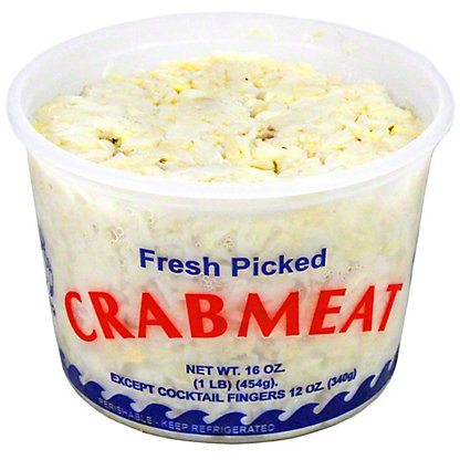 Central Market Fresh Regular Lump Crab Meat, LB