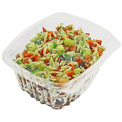 Central Market Orzo with Garden Vegetables Salad, LB