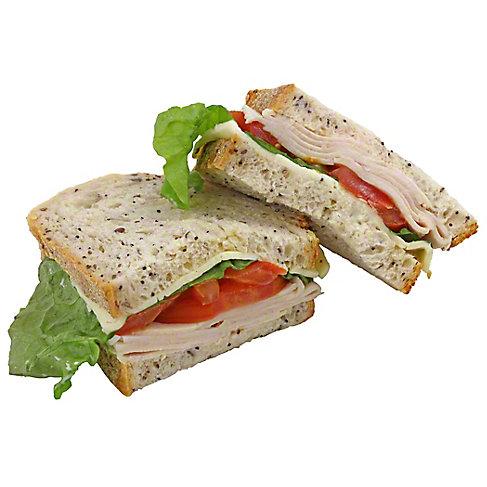 Central market Turkey Havarti Sandwich