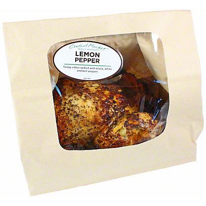 Chef Prepared Lemon Pepper Rotisserie Chicken, EACH