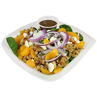 Central Market Spinach Orange Walnut Salad, ea