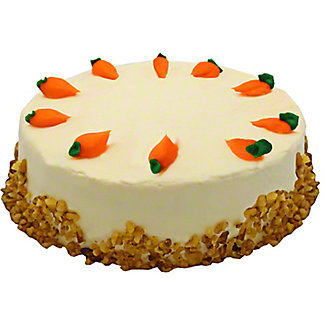 "Central Market 9"" Carrot Cake with Cream Cheese Icing, EACH"