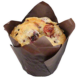 Central Market Cranberry & Blueberry Muffin, ea