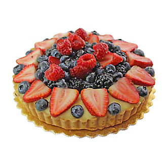 "Central Market 8"" Fresh Fruit Tart, EACH"