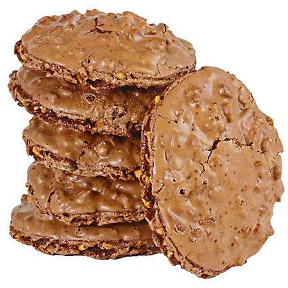Chocolate Crispy Cookies 6 ct, Each