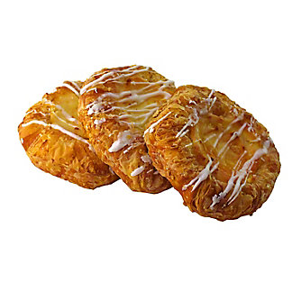Central Market Cream Cheese Danish,3 CT