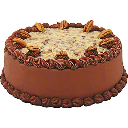 Central Market 9' German Chocolate Cake, ea