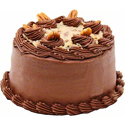 """6"""" German Chocolate Cake,38 OZ"""