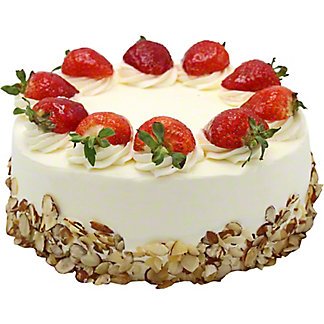 Central Market Strawberry Shortcake, 9 inch