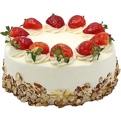 Central Market Strawberry Shortcake, 9 inch