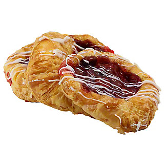 Central Market Cherry Danish 3 Count,EACH