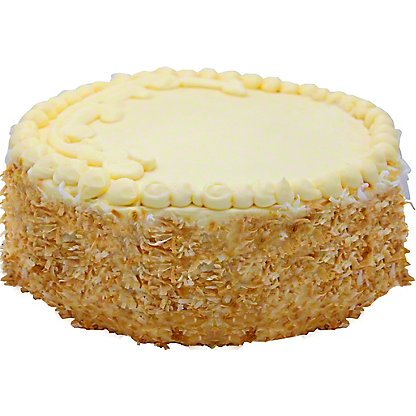 Central Market Italian Cream Cake, 9 in