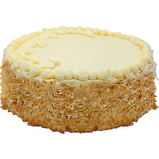 Central Market Italian Cream Cake 9 In