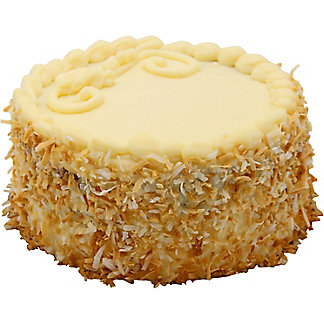 "Central Market 6"" Italian Cream Cake, EACH"
