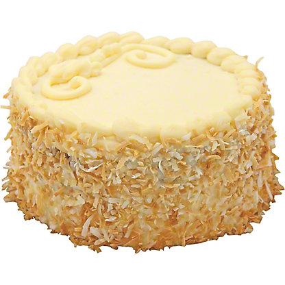 "Central Market 6"" Italian Cream Cake, EACH"
