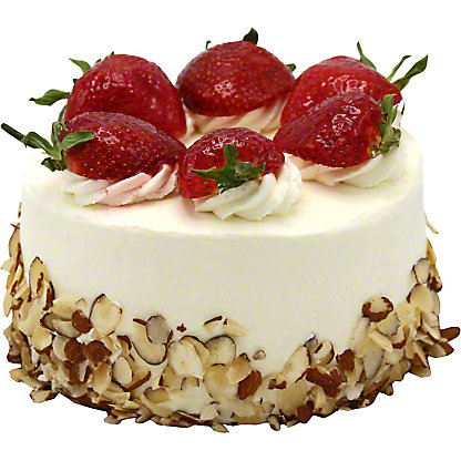 Central Market Strawberry Shortcake, 6 inch