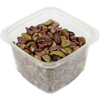 Divina Greek Olive Mix, Chopped, Sold by the pound