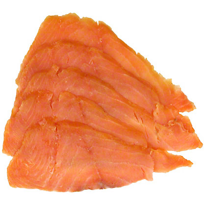 Acme Smoked Fish Norwegian Style Smoked Salmon, Sold by the pound