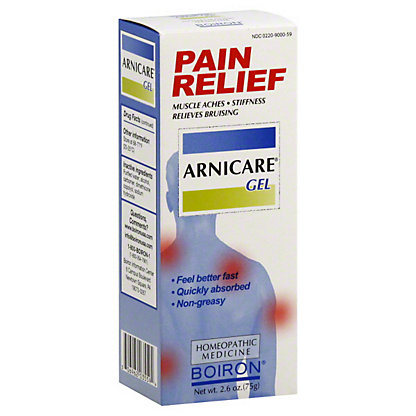 Boiron Arnicare Pain Relief Gel, 2.6 OZ
