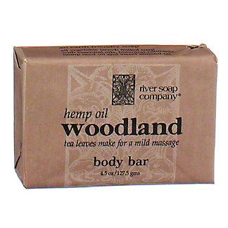 River Soap Company Woodland with Hemp Seed Oil Soap, 4.5 oz