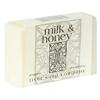 River Soap Company Milk and Honey Soap, 4.5 oz