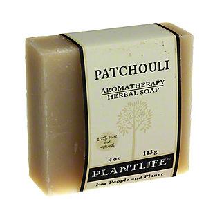 Plantlife Patchouli Aromatherapy Herbal Soap,4 OZ