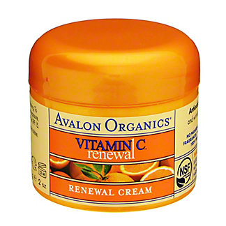 Avalon Organics Intense Defense with Vitamin C Renewal Facial Cream, 2 oz