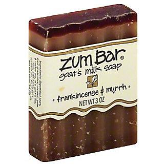 Indigo Wild Frankincense & Myrrh Zum Bar Goat's Milk Soap,3 OZ