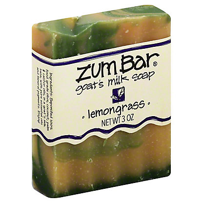 Indigo Wild Lemongrass Zum Bar Goat's Milk Soap,3 OZ