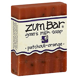 Indigo Wild Patchouli Orange Zum Bar Goats Milk Soap, 3 OZ
