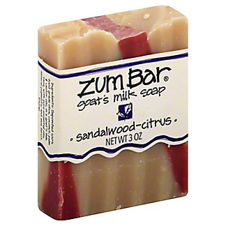 Indigo Wild Sandalwood-Citrus Zum Bar Goat's Milk Soap, 3 OZ