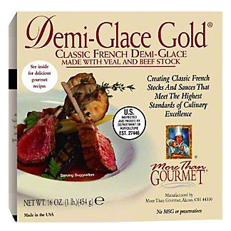 More than Gourmet Demi Glace Gold, 16 OZ