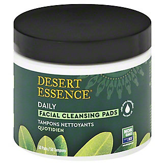 'Desert Essence' Tea Tree Oil Cleansing Pads, 50 CT