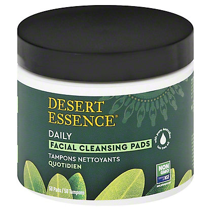 Desert Essence Tea Tree Oil Cleansing Pads 50 Ct Central Market
