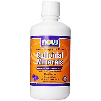 NOW Raspberry Colloidal Minerals, 32 oz