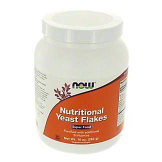 NOW Nutritional Yeast Flakes,10 OZ