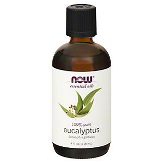 NOW Essential Oils 100 % Pure Eucalyptus Oil, 4 oz