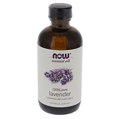 Now Essential Oils  Pure Lavender Oil  Oz