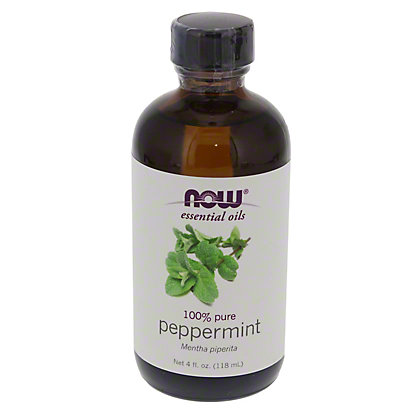 NOW Essential Oils 100% Pure Peppermint Oil,4 OZ