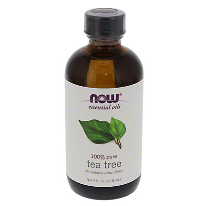 NOW Essential Oils 100% Pure Tea Tree Oil,4 OZ