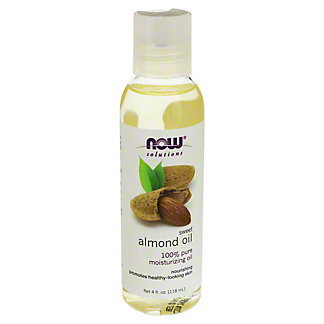 NOW Naturals Sweet Almond Oil,4 OZ