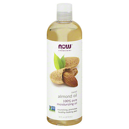 NOW Solutions Sweet Almond Oil,16 OZ