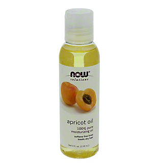 NOW Solutions 100% Pure Moisturizing Apricot Oil,4 OZ