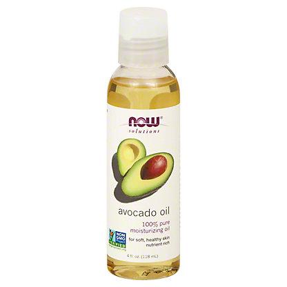 NOW Solutions 100% Pure Moisturizing Avocado Oil,4 OZ