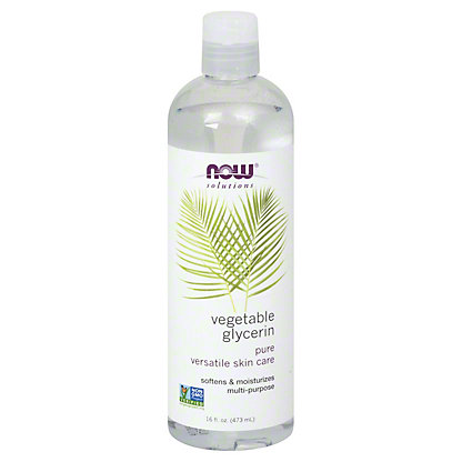 NOW Solutions 100% Pure Vegetable Glycerine Skin Care Oil,16 OZ