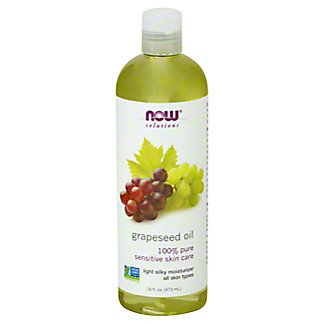 NOW Solutions Grapeseed Oil,16 OZ